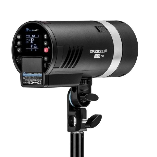 Flashpoint introduces the XPLOR 300 Pro TTL R2 Battery-Powered Monolight