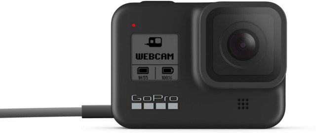 GoPro HERO8 Black now works as an HD webcam