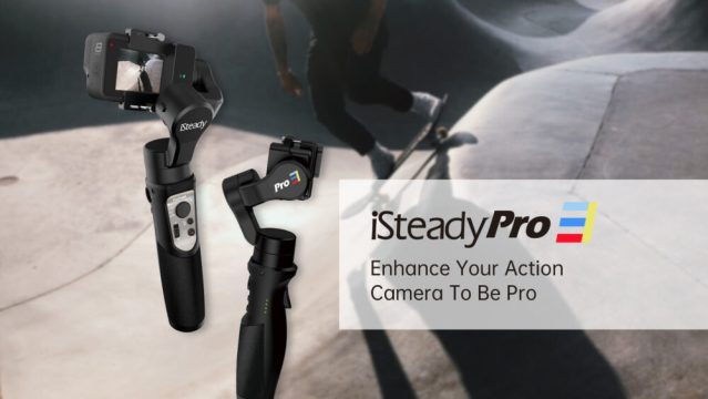 Hohem debuts iSteady Pro 3, action camera gimbal stabilizer for GoPro 8