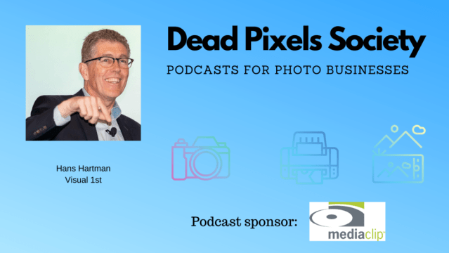 Dead Pixels Society podcast: Visual 1st conference with Hans Hartman