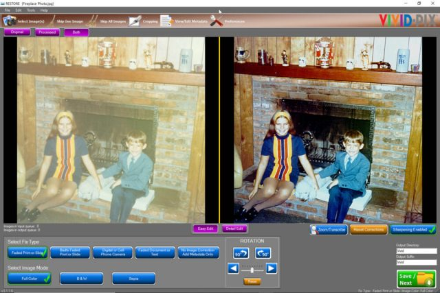 Vivid-Pix RESTORE update supports more formats; metadata tagging and more
