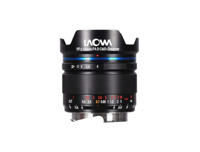 Venus Optics announces the full-frame Laowa 14mm f/4 FF RL ZERO-D lens
