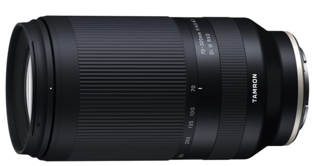 Tamron announces  70-300mm F/4.5-6.3 Di III RXD for Sony E-mount
