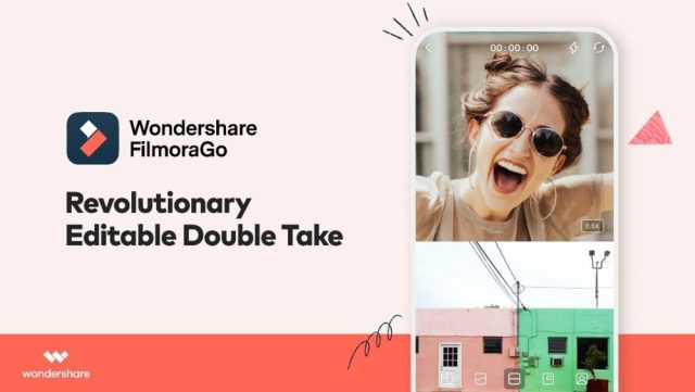 Wondershare FilmoraGo adds dual camera capture