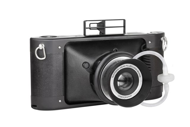Lomography announces panoramic film camera with liquid lens