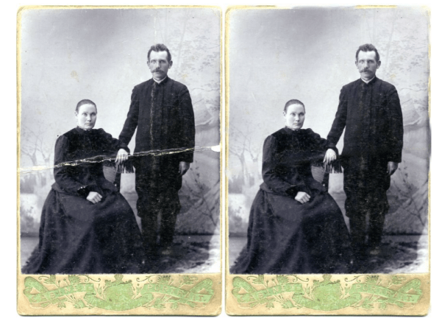 MyHeritage adds photo repair to genealogy site features
