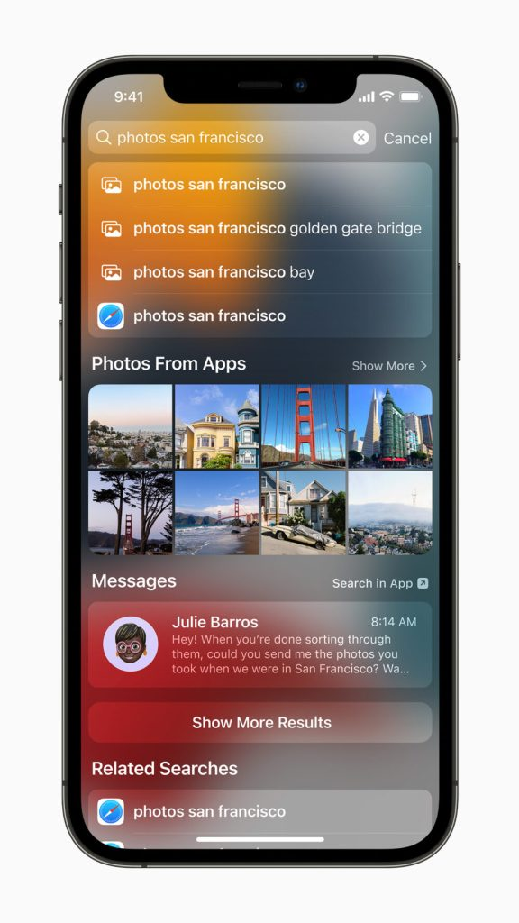 Apple adds minor Photos update to iOS 15