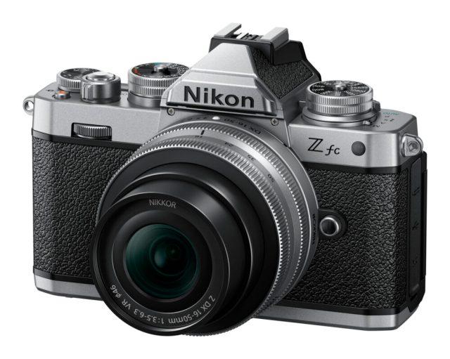 Nikon debuts Z fc camera with classic design