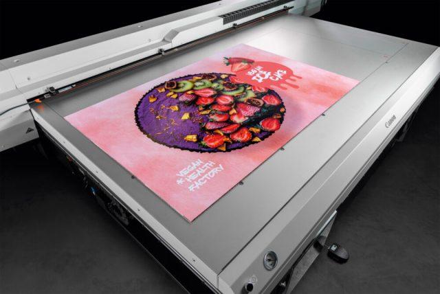 Canon launches Arizona 135 GT UV flatbed printer