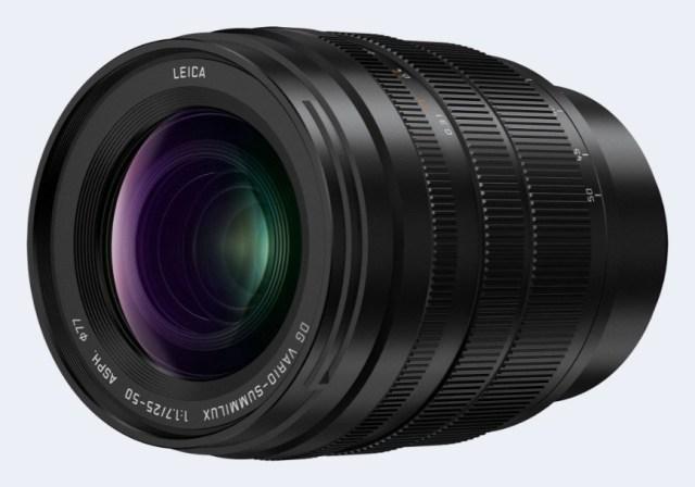 Panasonic debuts LEICA DG VARIO-SUMMILUX 25-50mm / F1.7 ASPH