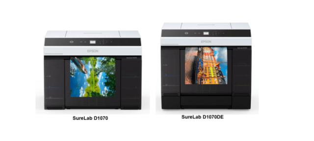Epson debuts two dry lab photo printers