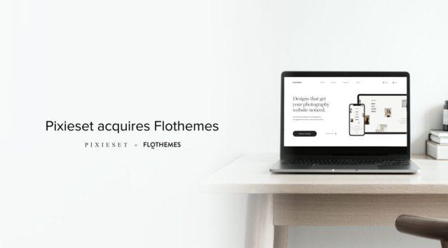 Pixieset acquires Flothemes, maker of WordPress photographer themes