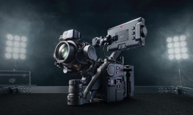 DJI  debuts first 4-axis cinema camera