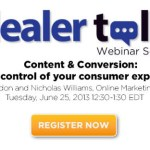 DealerTalk Webinar Series: Content and Conversion
