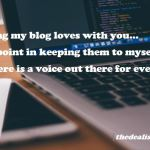 Blogger Community – Sharing My TBR List of Blogs