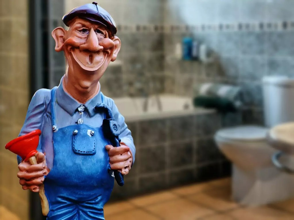 imagen de un juguete de un fontanero: llama el fontanero para evitar goteos y ahorrar agua en tu hogar
