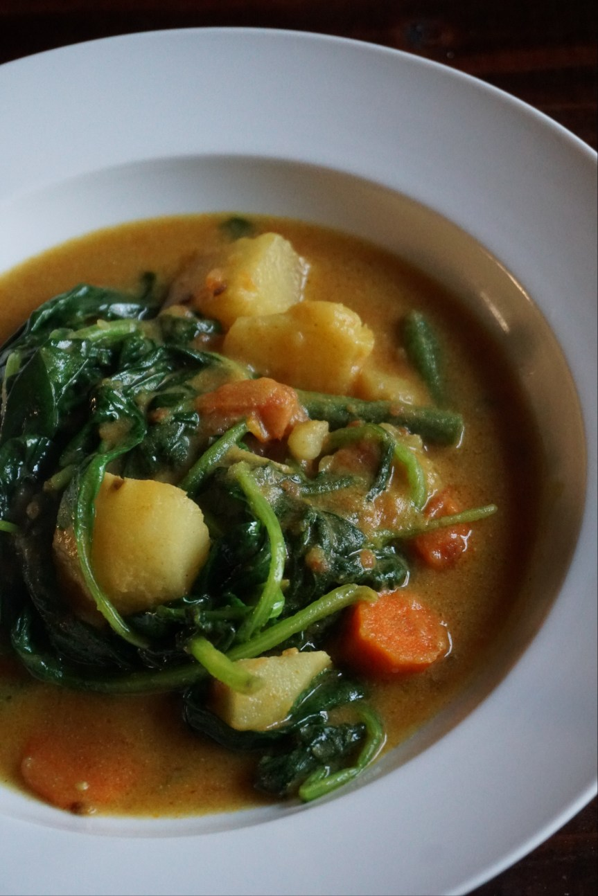 Vegetarian Coconut Curry