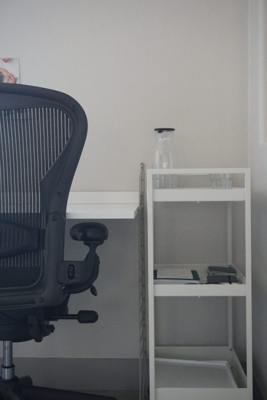 Pushcarts: A Small Space WFH Desk Solution