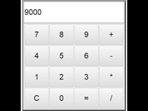 Simple Javascrit Calculator