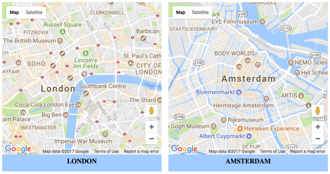 Generate multiple Google Maps on a page - The Debuggers