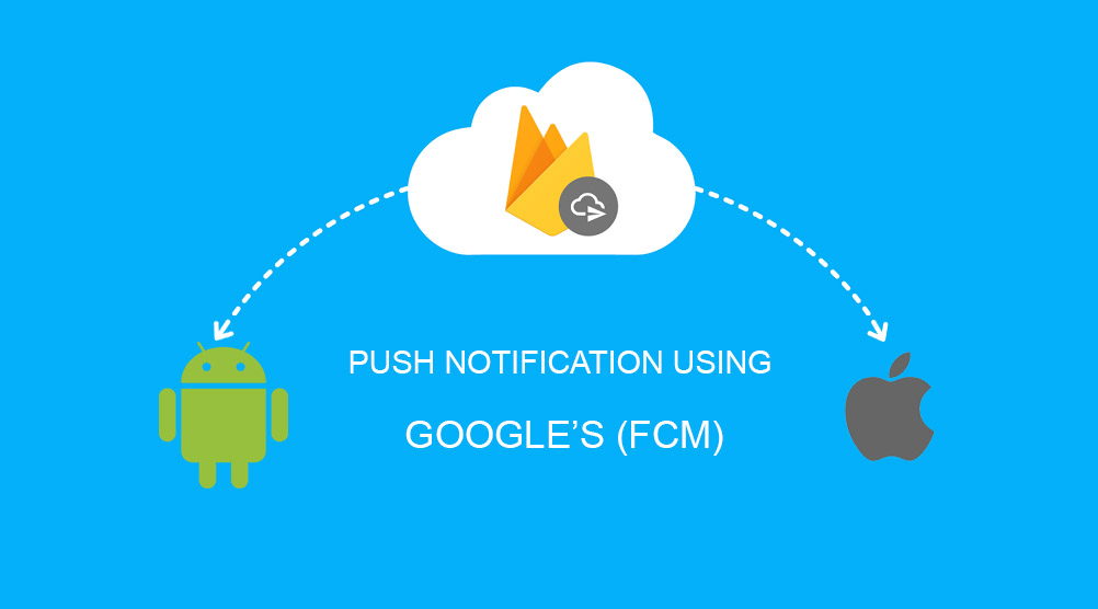 Send PUSH notification using Google FCM and PHP - The Debuggers