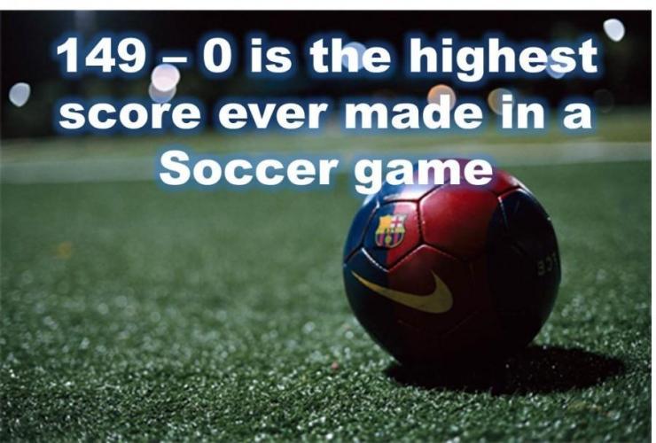 Image result for highest scored game in soccer