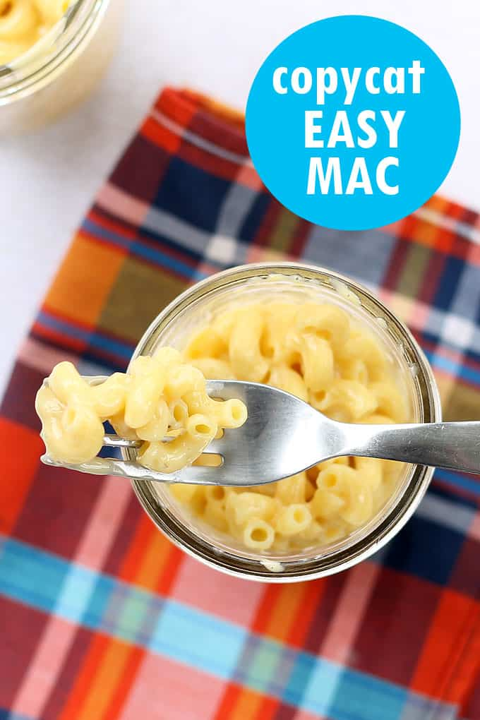 homemade kraft easy mac recipe