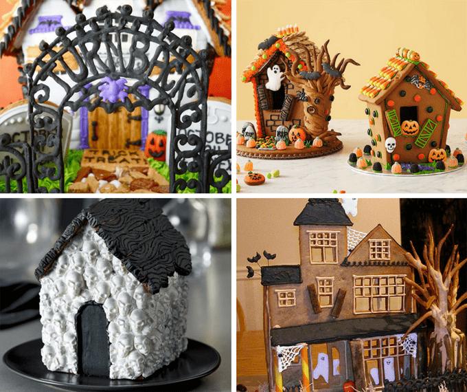 Halloween Haunted Dollhouse