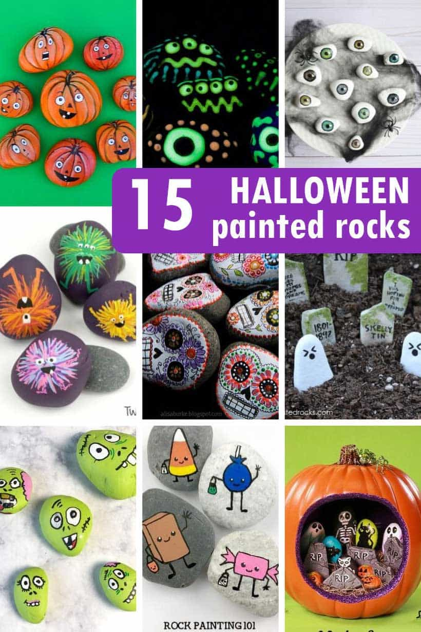 Every item on this page was chosen by a woman's day editor. 15 Halloween Painted Rocks Fun Holiday Craft Ideas