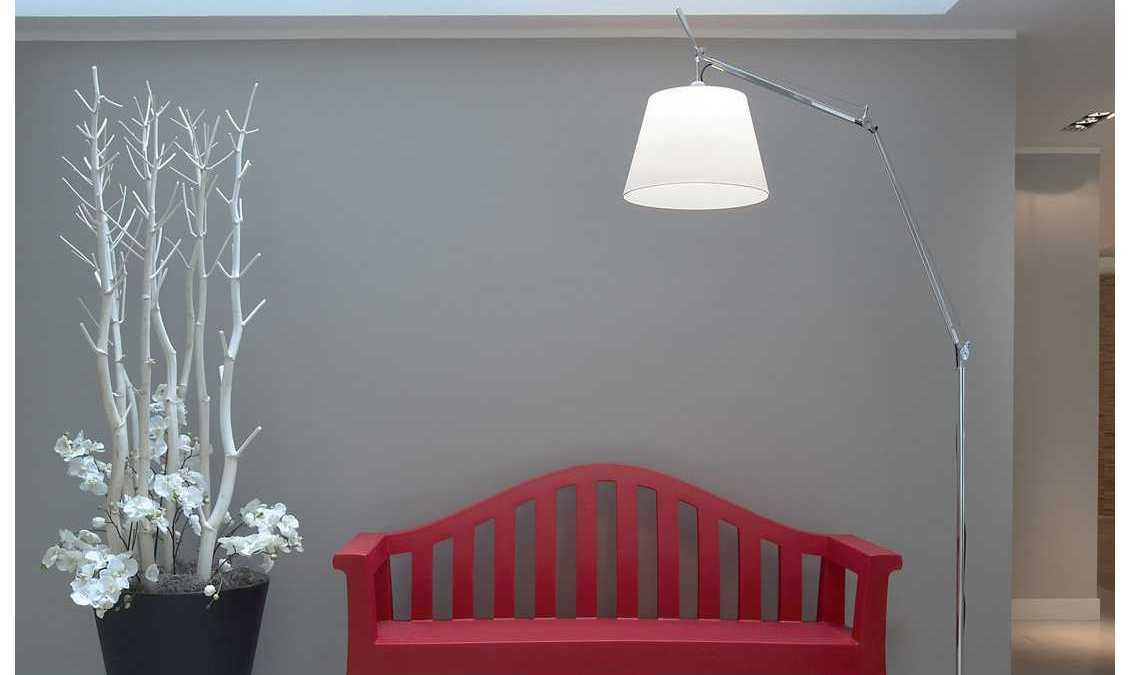 Een Artemide lamp zorgt voor een luxe uitstraling in huis