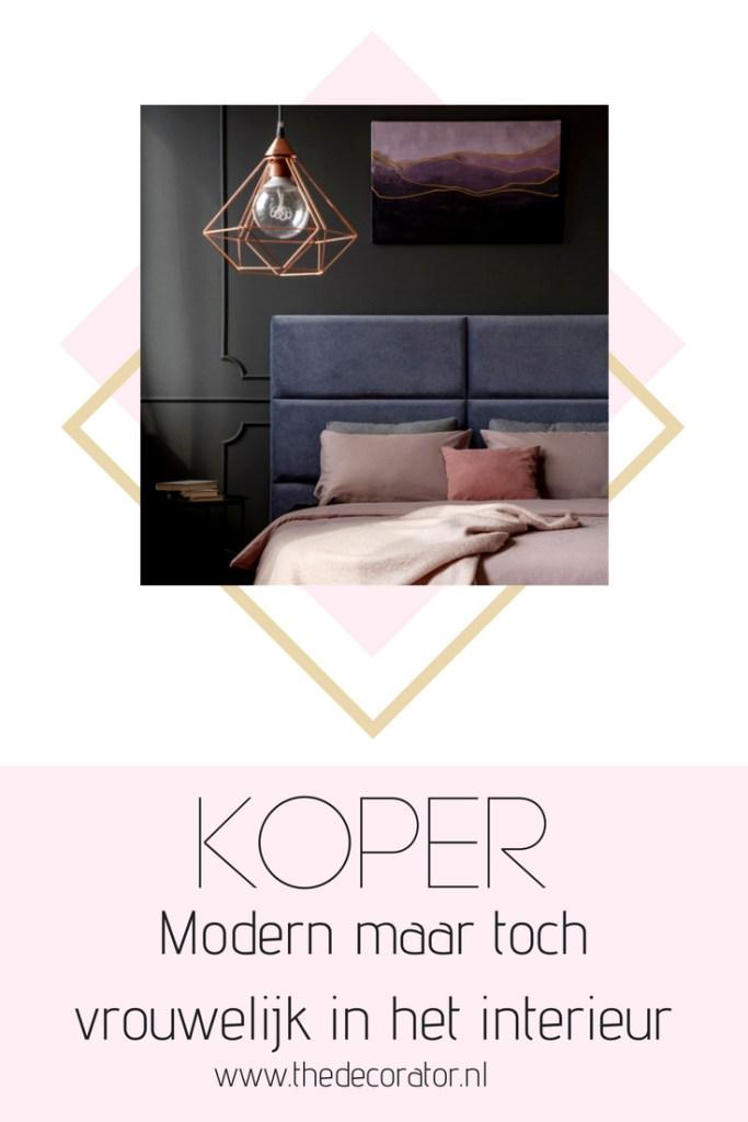 koper in het interieur - modern maar toch vrouwelijk - copper interior