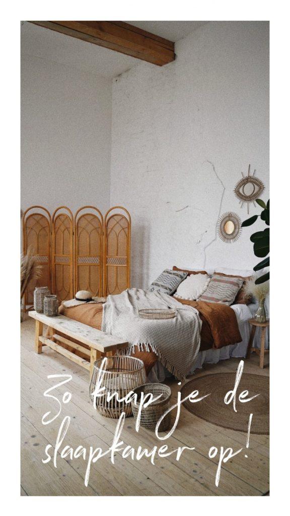 slaapkamer opknappen