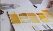 Antoinette Poisson Yellow Fabrics