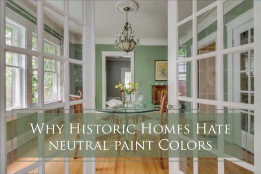 Neutral Paint Colors For Historic Homes No Way
