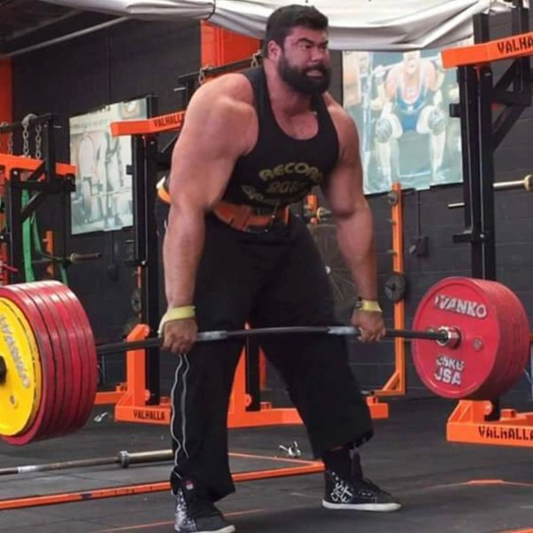 Colm Woulfe, Worlds Strongest Man competitor