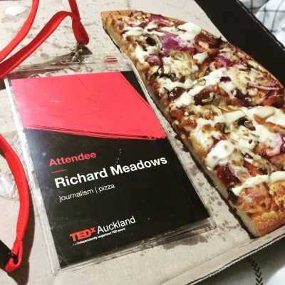 about richard meadows: journalism, and pizza