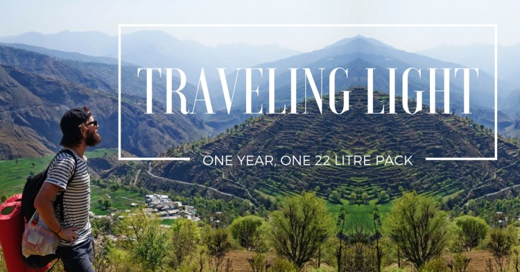 Ultralight backpacking: One year traveling Asia with a 22 Litre Day Pack