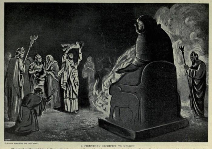 Moloch vs Saint Matthew