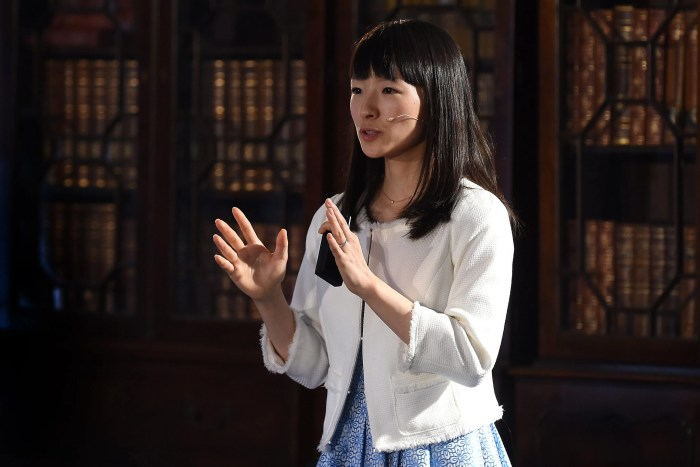 Marie Kondo, bestselling author of The Life-Changing Magic of Tidying Up: A review