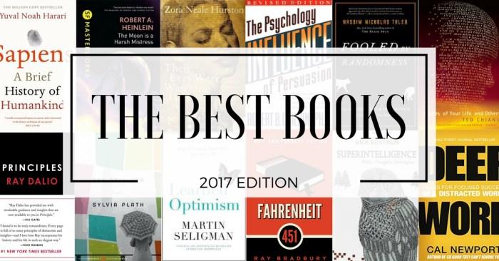 Best books 2017