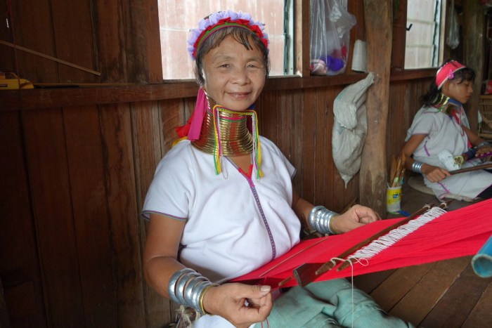 Karen woman in Myanmar