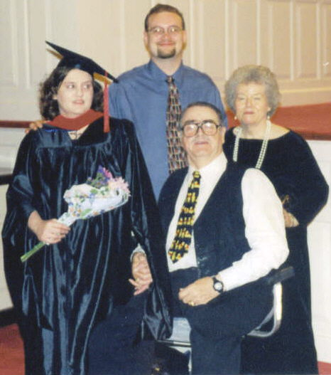 Graduation from SWBTS May 2000