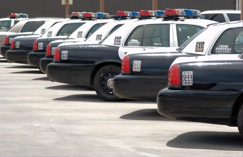 las vegas police cars