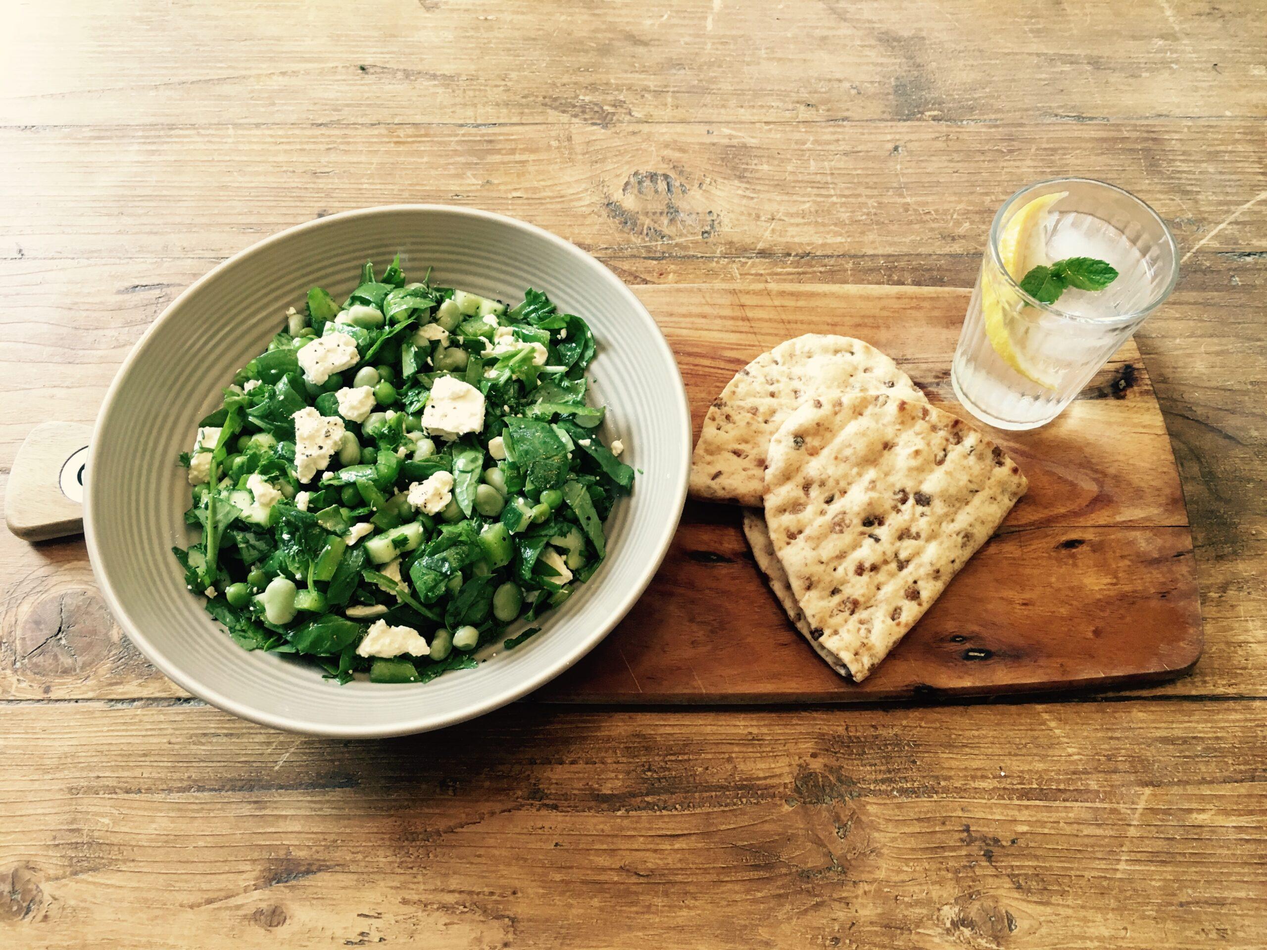 Zesty Feta and Summer Green Salad
