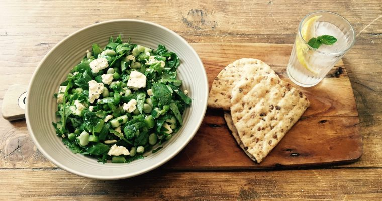 Zesty Feta and Summer Green Salad