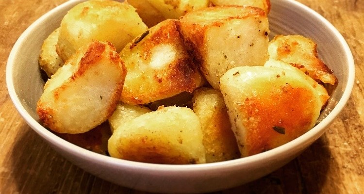 Make Ahead Christmas Roast Postatoes