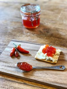 Lime and Ginger Chilli Jam