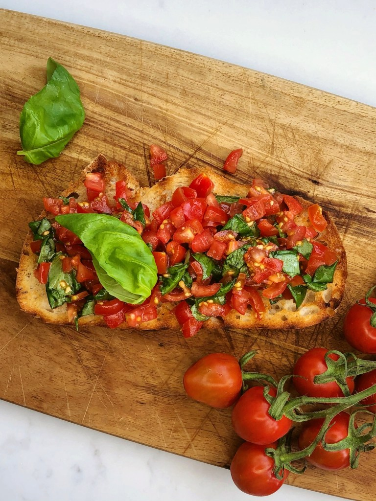 How to make Tomato Bruschetta