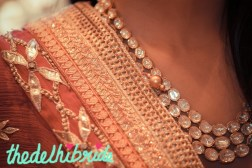 Neck piece and dupatta by Anita Dongre