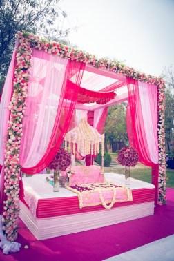 Elements wedding decor main area Sahiba wedding Photo Tantra